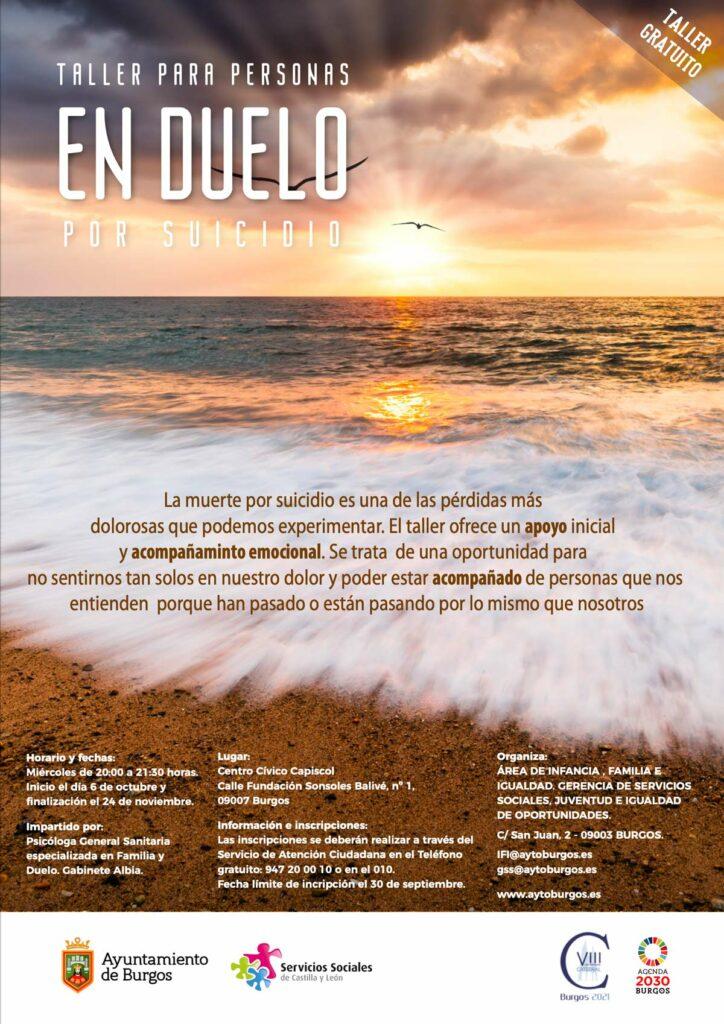 Talleres gratuitos de Crianza positiva y Duelo en Burgos. ¡Apúntante ya!
